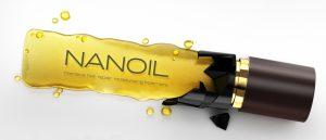 Haaröl Nanoil für die Haare mit hoher Porosität