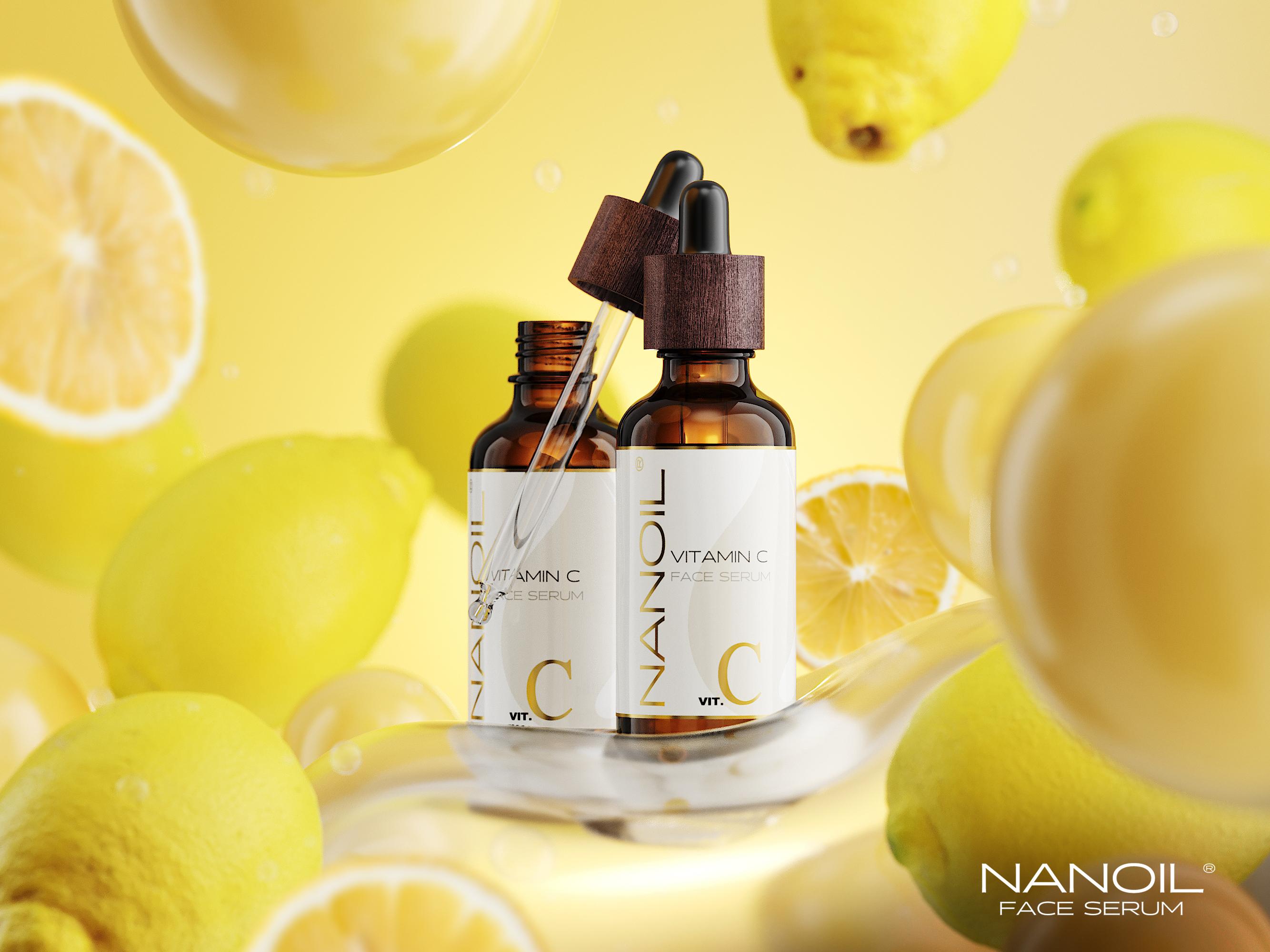 das beste Gesichtsserum mit Vitamin C Nanoil