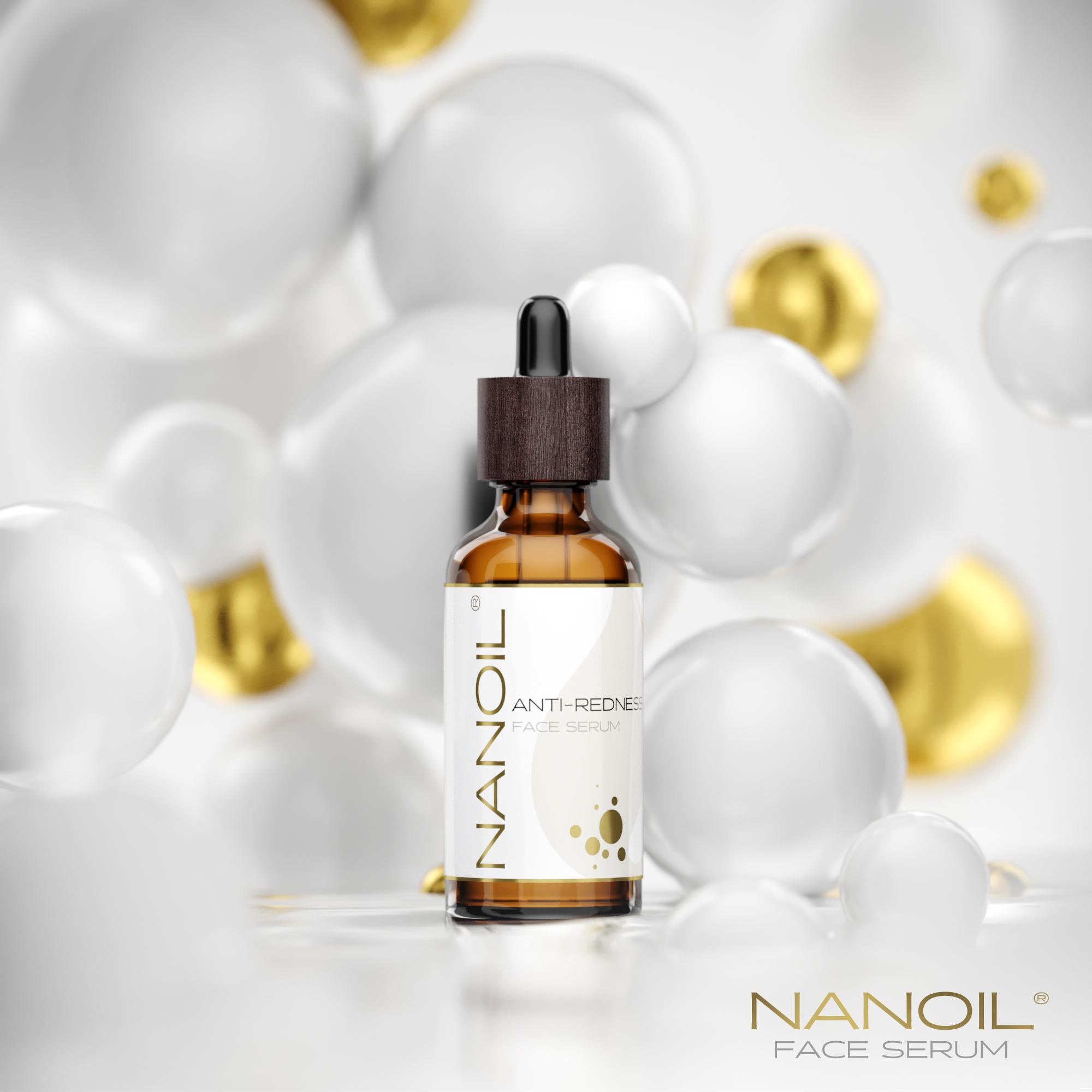 das empfohlene Gesichtsserum für die Haut mit Neigung zu Couperose Nanoil