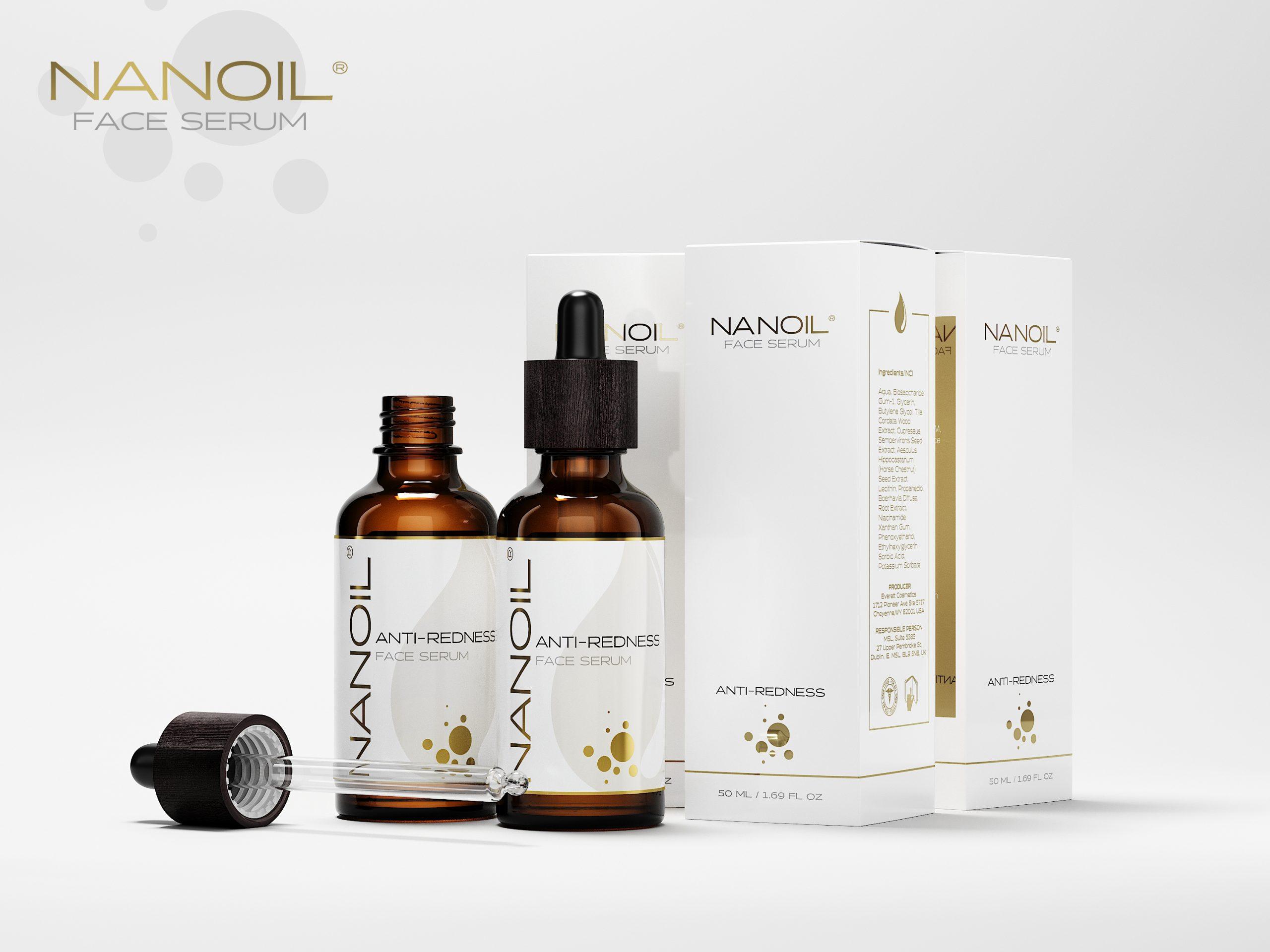 das beste Gesichtsserum für die Haut mit Neigung zu Couperose Nanoil